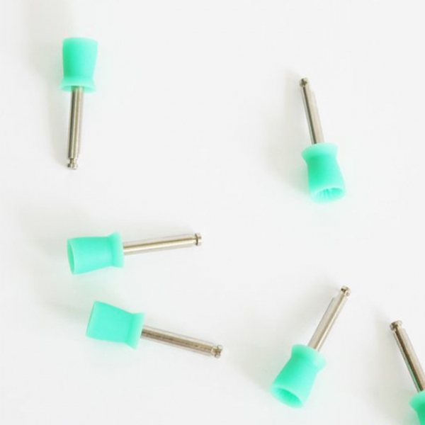 Zahnpolier-Prophy-Becher riegelförmig