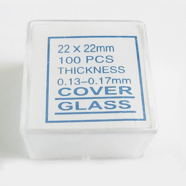 Mikroskop Glasabdeckung660
