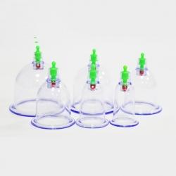 Kunststoff-Vakuum-Schröpfen mit verschiedenen Größen