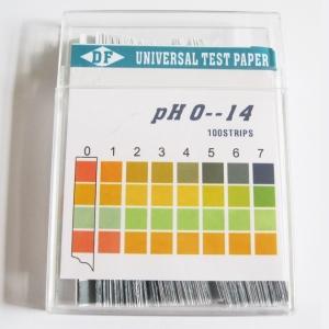 Universal-Indikator-Papier 100pcs Plastikstreifen 660