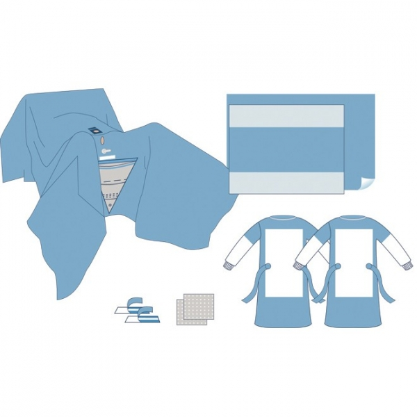 Einweg-Sterile- TUR Pack (Urologie-Set)