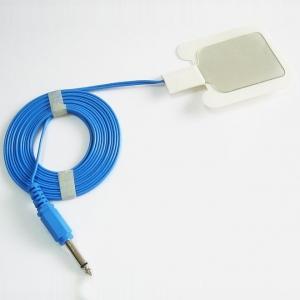 ESU-Platte mit Kabel, Monopol, 6,3 mm