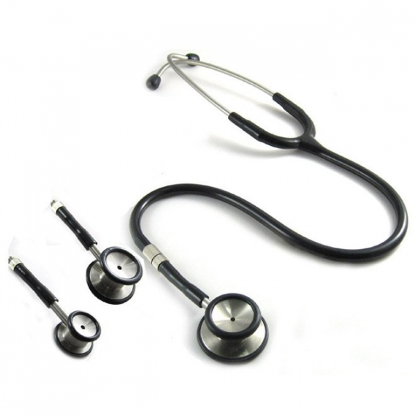 Stainless Steel Dual head Stethoscope (3 sets packing)