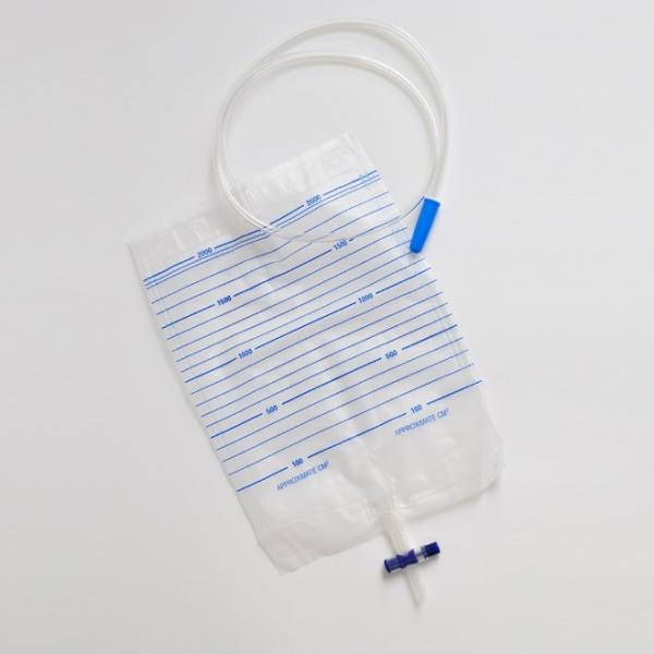 Urinbeutel mit Kreuzventil