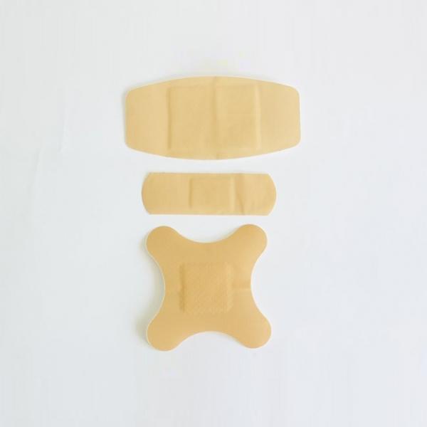 Antibakterieller Plastikpflaster der ersten Hilfe