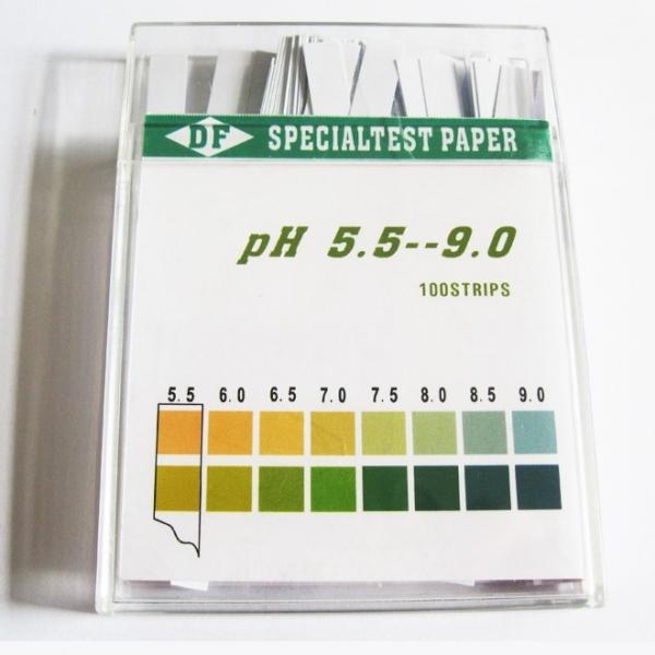 Spezielle Indikator Papier, 100 Kunststoff Streifen/ box 660