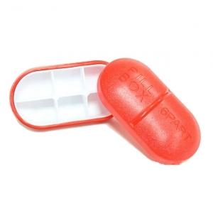 Pillenschachtel mit 6 Fächern