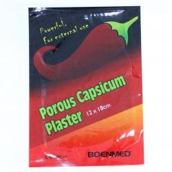 Poröser Capsicum-Gips