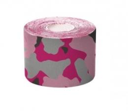 Camouflage Vorgeschnittenes Kinesiologie Tape rosa I-Streifen Rolle